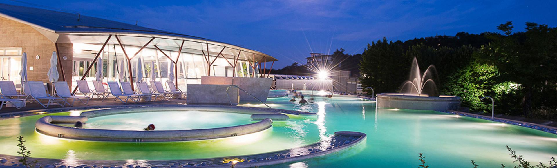 Le piscine termali